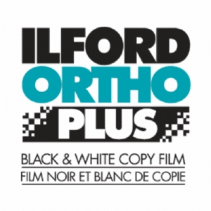 "Ilford ORTHO Plus Manufacturing Program 8"" x 10"" / 25 Sheet Film"