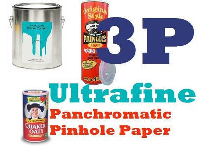 Ultrafine 3 P Panchromatic Paper for Pinhole Cameras