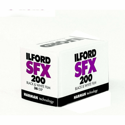 Ilford SFX 200 - SPECIAL  - 35mm x 36 exp B and W Film Date 06/20 Cold Stored