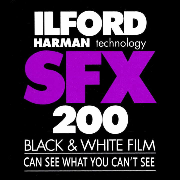 Ilford SFX ISO 200 Black and White Film