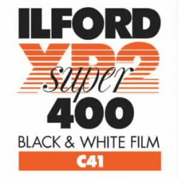 Ilford XP2 Super 400 Chromogenic Film