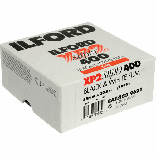 Ilford XP2 Super C-41Process 400    35mm x 100 Foot Roll