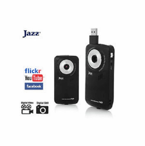Jazz HDV149 Digital Camcorder HD 1.8' 5 Mega Pixel 4x Zoom Youtube LCD Color