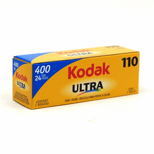Kodak 110 Ultra 400 Color Print Film 24 Exposure Outdated