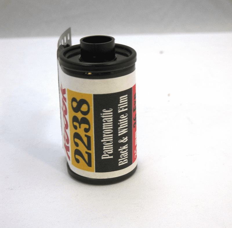 Kodak 2238 Black & White Film 35mm Pan ISO 25