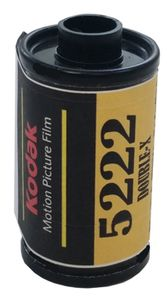 Kodak 5222 Double - X Black & White Film 35mm ISO 250