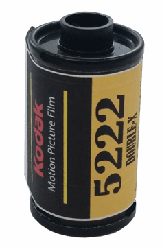 Kodak 5222 Double - X Black & White Film 35mm x 36 Exposures  ISO 250