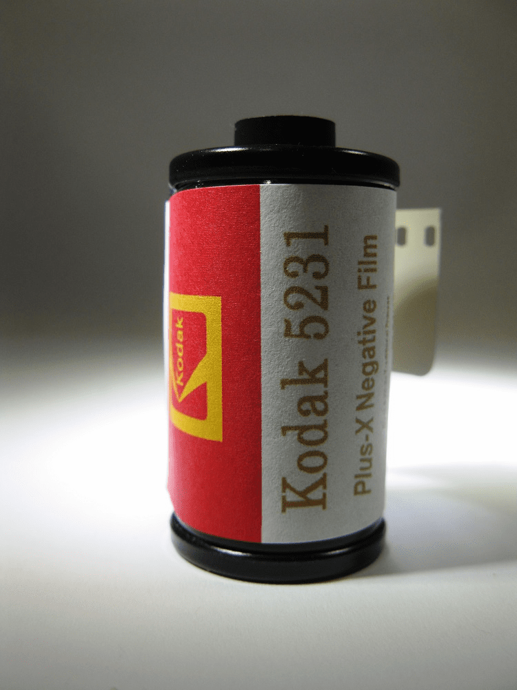 Kodak 5231 Black & White Film Plus-X ISO 80 35mm x 36 Exp