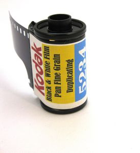 Kodak 5234 Black & White Film 35mm Pan Fine Grain Duplicating ISO 6