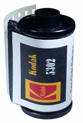 Kodak 5302 Fine Grain Positive Release Black & White Film
