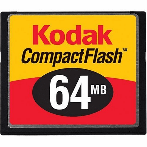 Kodak 64MB Compact Flash Memory Card