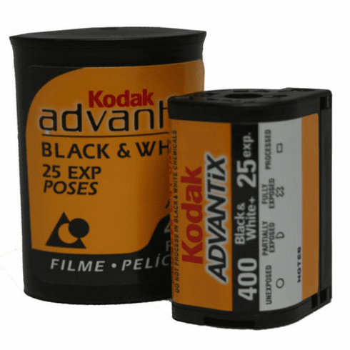 Kodak Advantix BLACK & WHITE 400 Film APS 25 Exp.