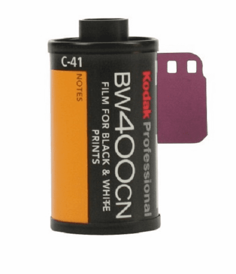 Kodak BW400CN Black & White Film C-41 Process