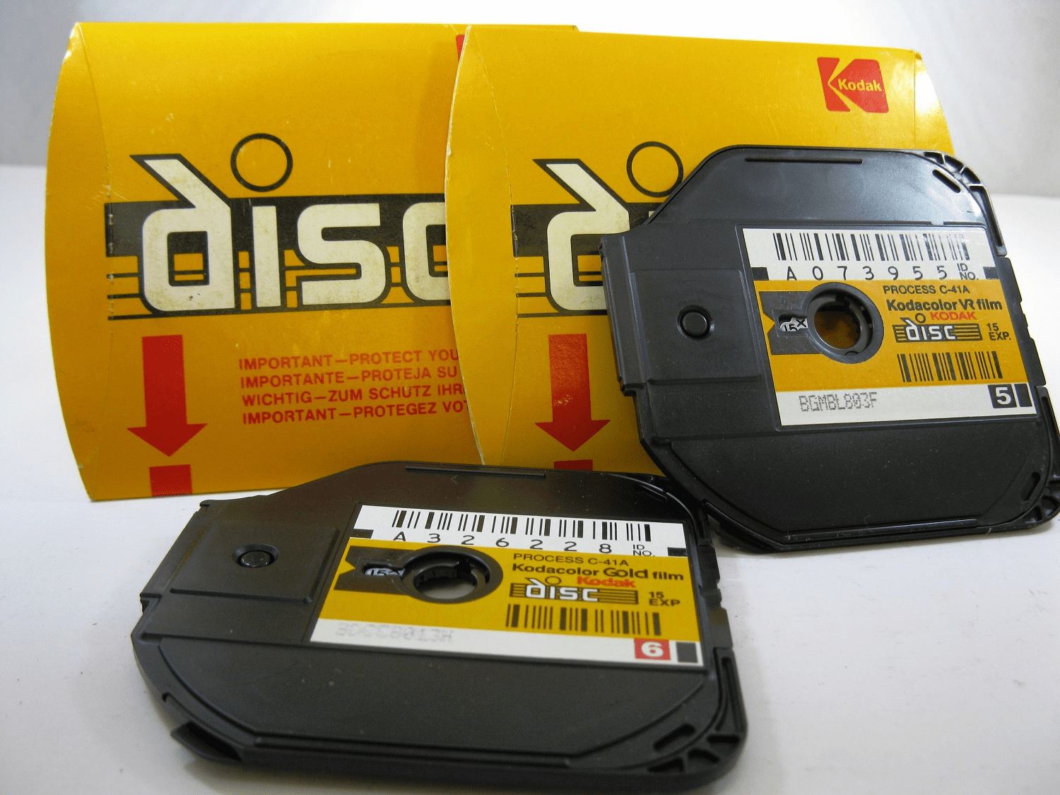 Kodak Disc Film Double Pack
