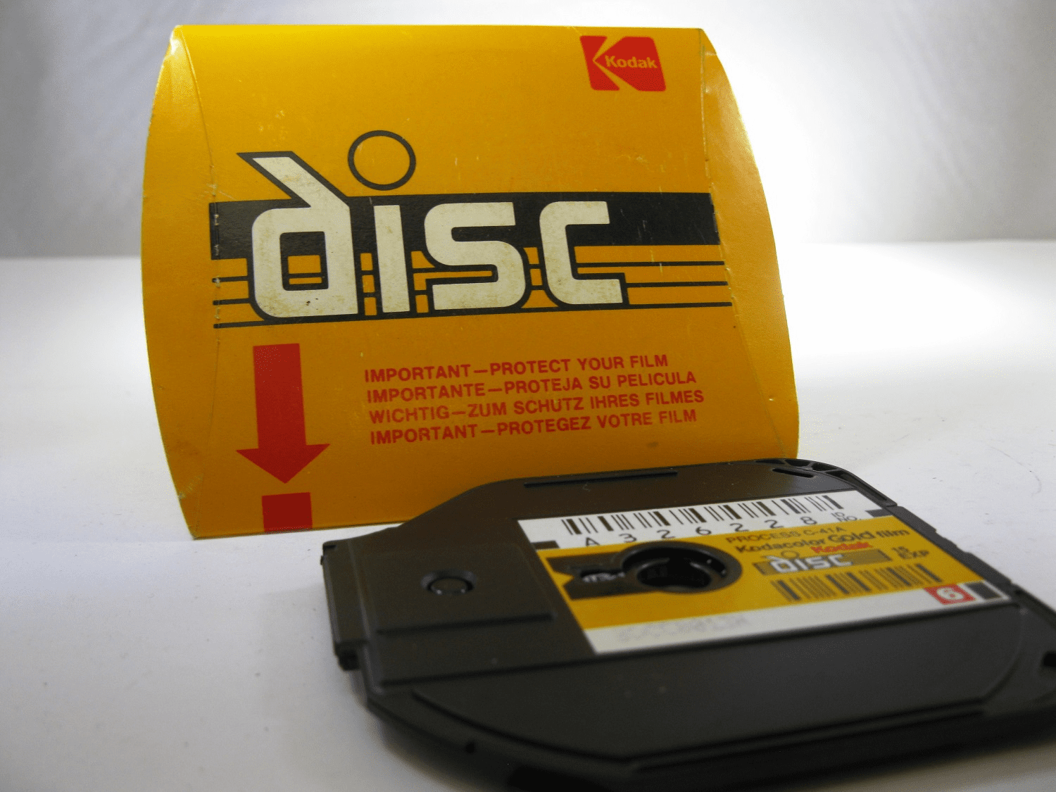 Kodak Disc Film Single Pack