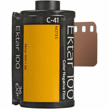 Kodak Ektar 100 Color Negative Film 35mm x 36 exp.