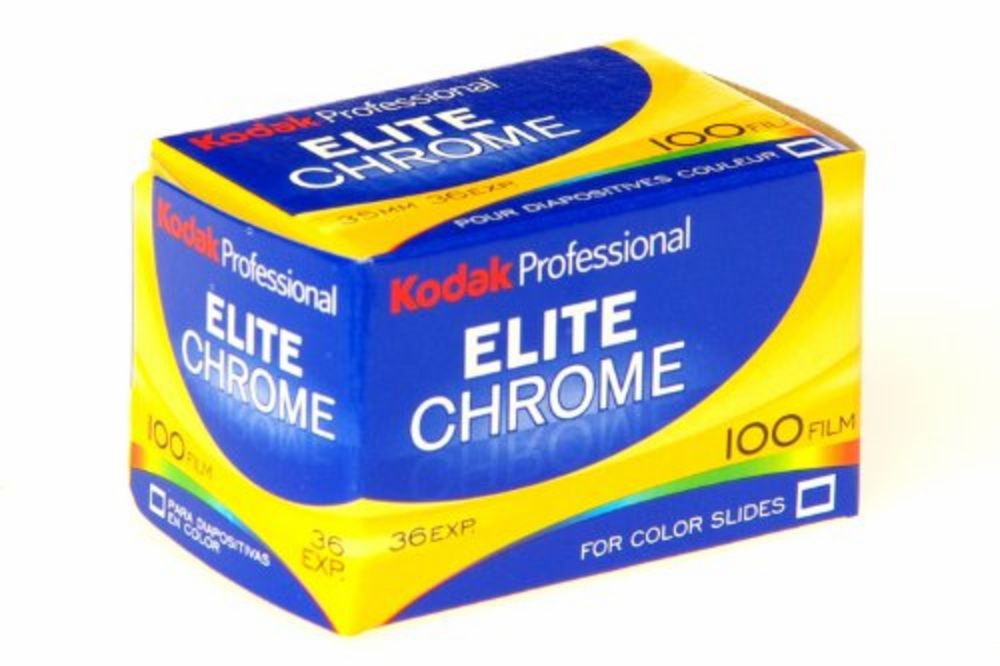 KODAK Elite Chrome 100 Film for Color Slides for 35mm x 36 Exp