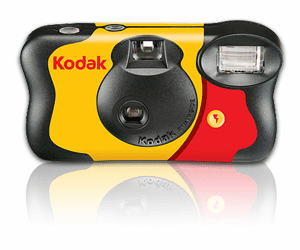 Kodak Funsaver Single Use Camera 27 Exposure