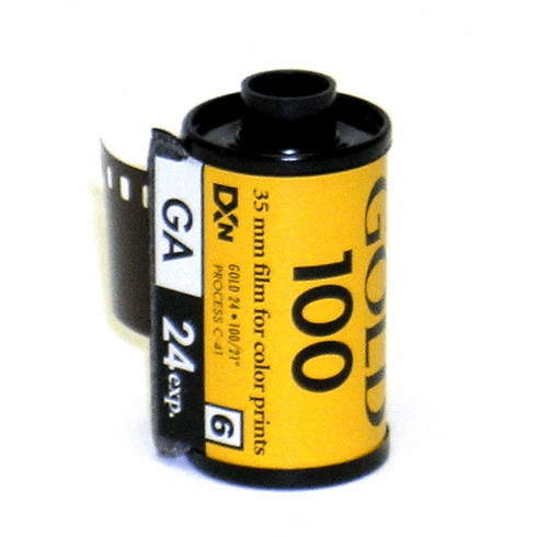 Kodak GA 100 Color Print Film 35mm x 24 exp.