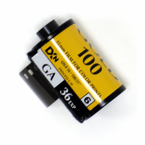 Kodak GA 100 Color Print Film 35mm x 36 exp.