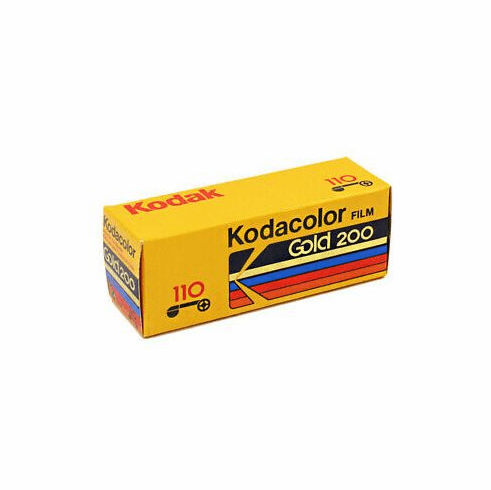 Kodak Gold 110 Film ISO 200 24 Exposure