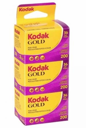 Kodak Gold 35mm ISO 200 36 exp 3-Pack