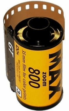Kodak GT 800 Color Print Film 35mm x 36 exp.