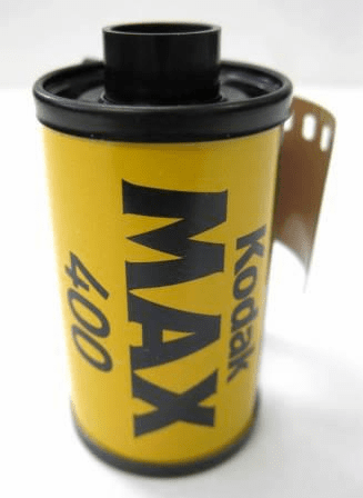 Kodak Max 400 Color Print Film 35mm x 24 exp.