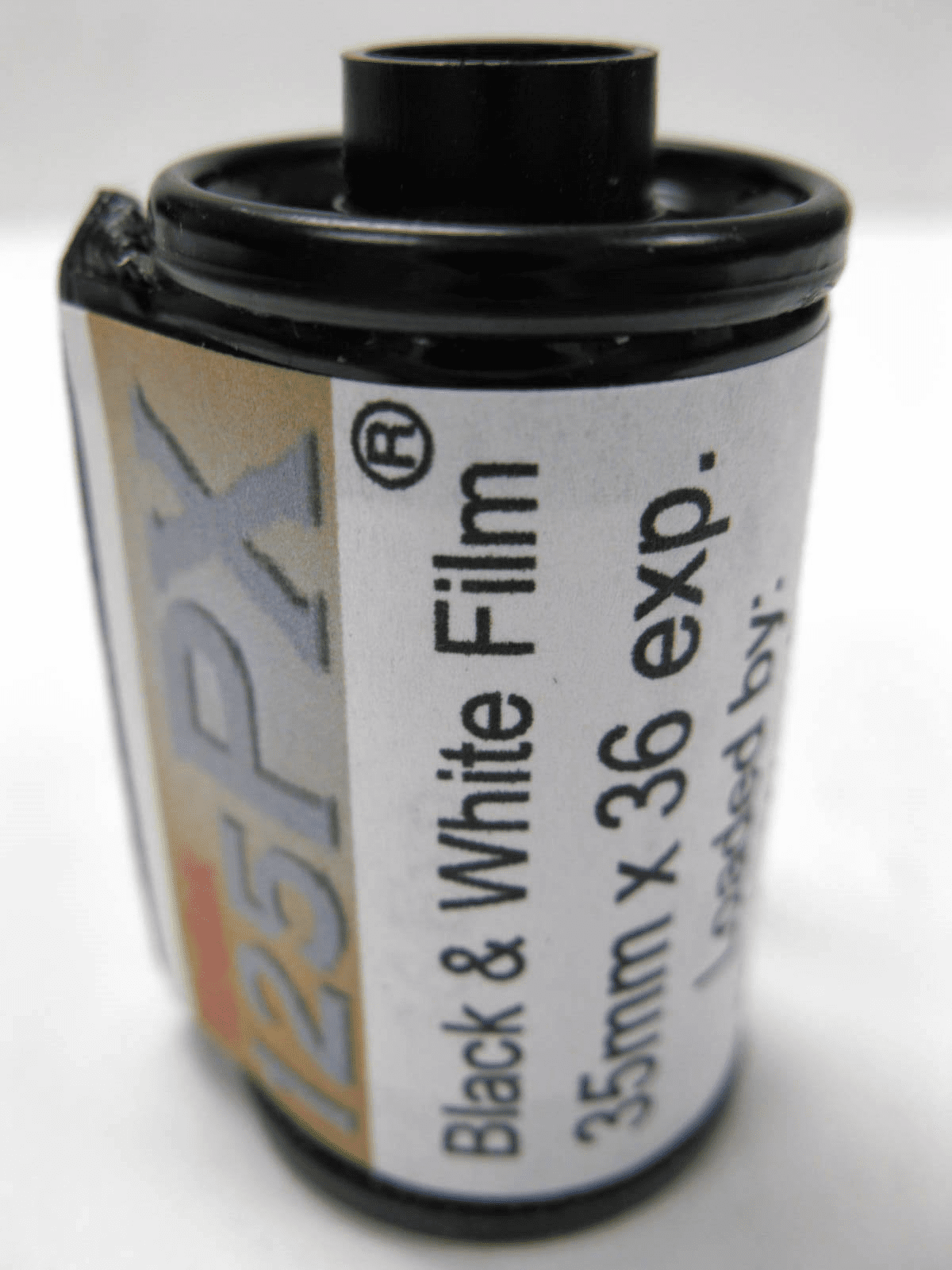 Kodak Plus-X 125 B & W Film 35mm x 36 Exp Loaded by Photo Warehouse
