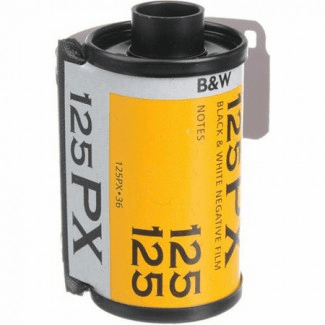 Kodak Plus-X 125 B & W Films