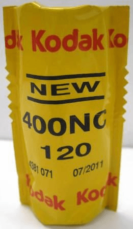 Kodak Portra 400NC 120 Natural Color Film Outdated Special