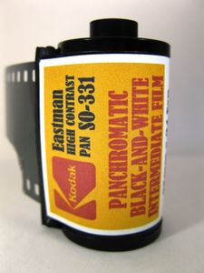 Kodak SO-331 (5369) High Contrast Pan Black and White Film ISO 25