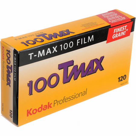 Kodak T-Max 100 Black & White 120 Film 5 Pack 11/2016