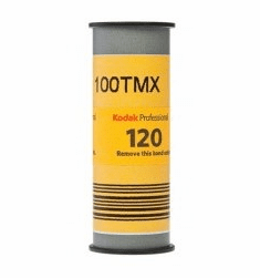 Kodak T-Max 100 Black & White 120 Film Single Roll Special