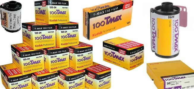 Kodak TMAX TMX 100 Black & White Films