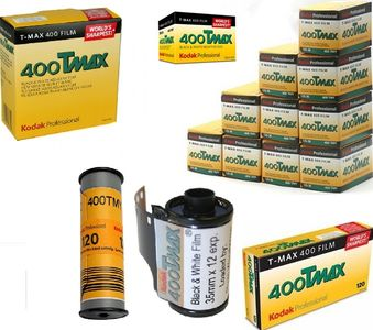 Kodak TMAX TMY 400 Black & White Films