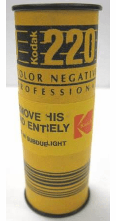 Kodak VPS SO-270 ISO 100 220 Medium Format Color Negative