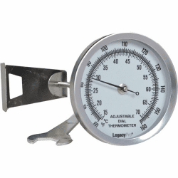 LegacyPro 2.25 inch Luminous Dial Thermometer