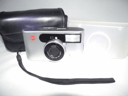 Leica C1 35 mm Camera Vario-Elmar 38-105mm aspherical zoom Lens Leitz - Used