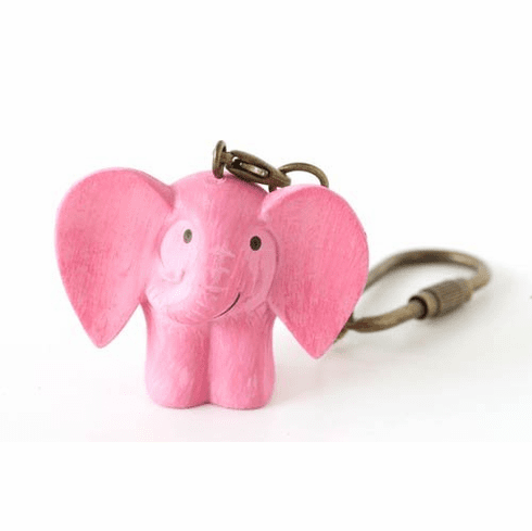 Lisa Larson Mini-animal Key Ring (Elephant)