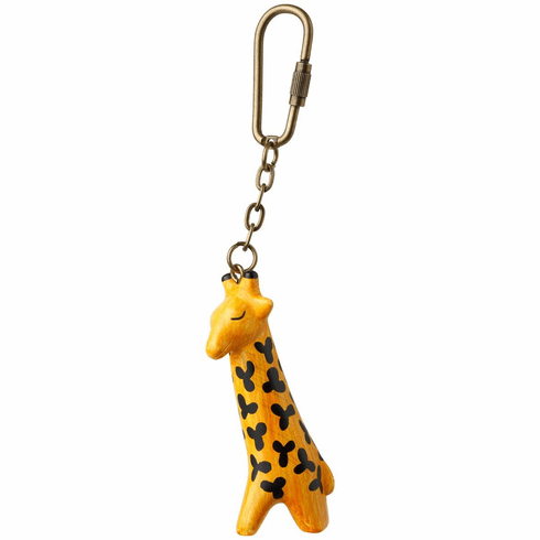 Lisa Larson Mini-animal Key Ring (Giraffe)