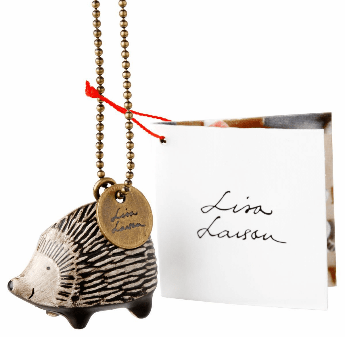 Lisa Larson Mini-animal Key Ring (Hedgehog)