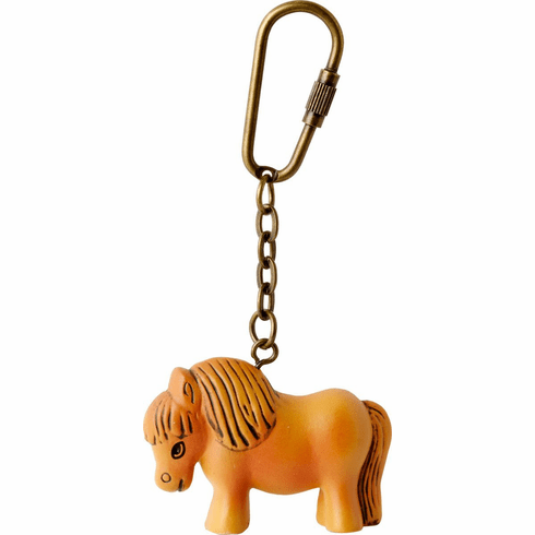 Lisa Larson Mini-animal Key Ring (Pony)