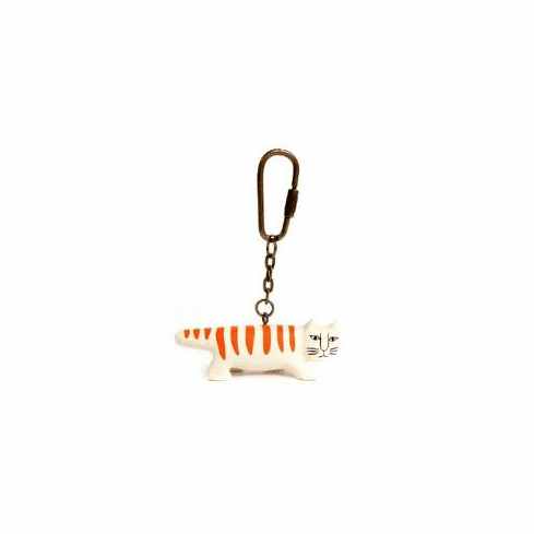 Lisa Larson Necono Cat Key Chain