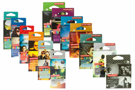 Lomographic Society Film Packs