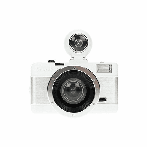 Lomographic Society Fisheye 2 Camera White - White Knight