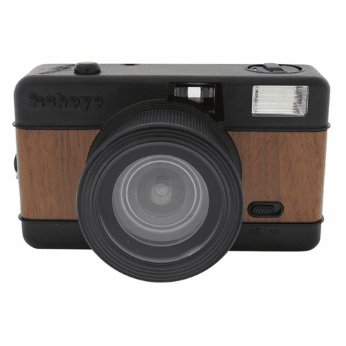 Lomographic Society Fisheye Camera Woodgrain