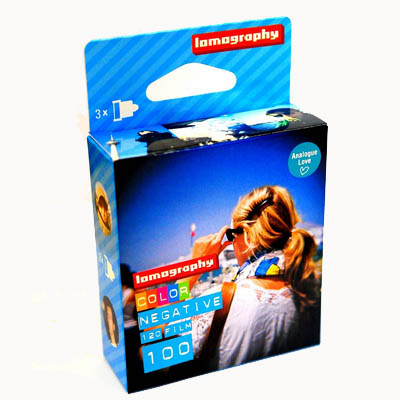 Lomography 120 Format ISO 100 Fine Color Negative Film - 3 Pack