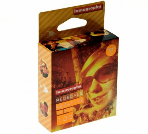 Lomography 120 Format ISO 100 Redscale Negative Film - 3 Pack