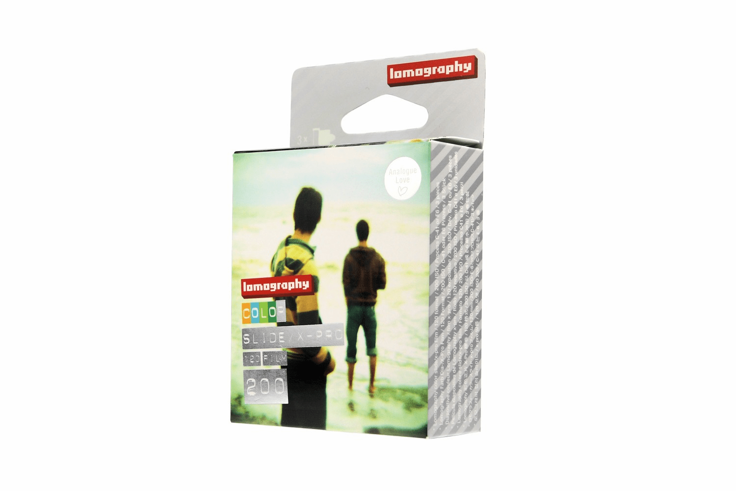 Lomography 120 Format ISO 200 X-Pro Color Slide Film - 3 Pack